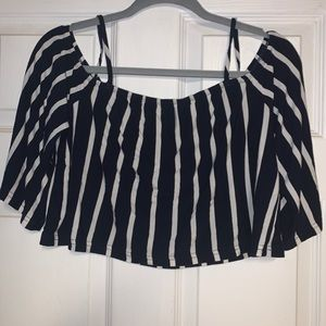 Charlotte Russe cut out off the shoulder shirt